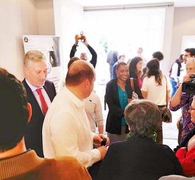 Inauguration du siège social